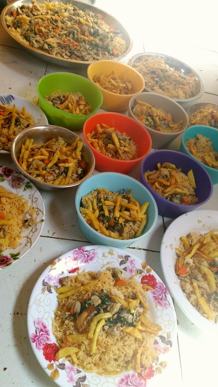 Unser Mittagessen