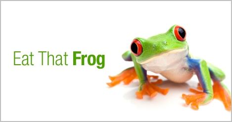 Eat that Frog oder: Erst die Arbeit, dann dasVergnügen!